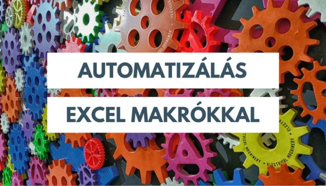 Excel Makró alapok egész napos workshop