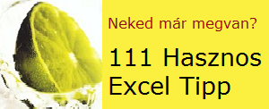 111 Hasznos Excel Tipp