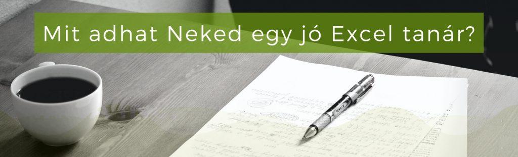 Egy jó Excel tanár igazodik az igényeidhez, így valódi értéket hoz az Excel tanfolyam.