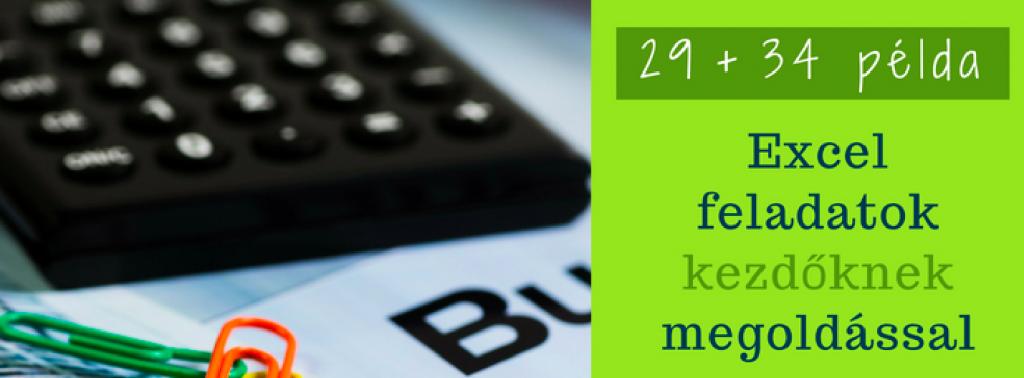Excel táblázat készítése számolásra, gyakorold be ezekkel a kezdő feladatokkal
