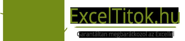 Exceltitok logo - Garantáltan megbarátkozol az Excellel - Egyénre és cégre szabott Excel oktatás
