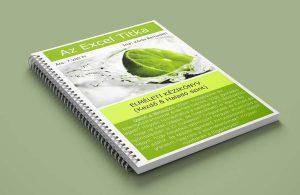 Excel könyv, Excel tankönyv